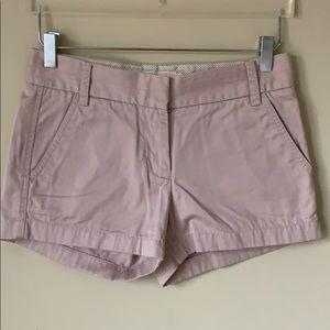 J Crew Women's Chino Classic Twill shorts sz 0